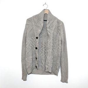 Zara Tan Cardigan in a beautiful Knit Design